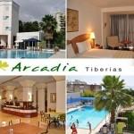 שוברים למלון ארקדיה טבריה